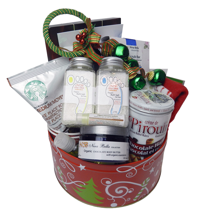 NBC Christmas Gift Basket